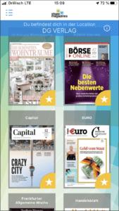 Mit sharemagazines können Zeitungen und Zeitschriften aus den verschiedensten Genres gelesen werden.